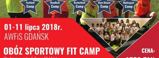 Podsumowanie obozu letniego Fit Camp w Gdańsku 1-11.07.2018